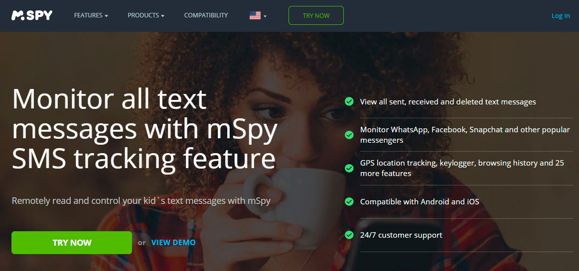 Call and sms tracker online